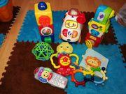 Verschiedene Spielsachen