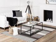 Teppich grau 160 x 230