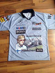 Weltmeister Shirt Mika Häkkinen 1998