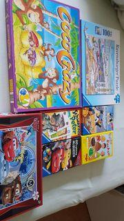 Kinderspiele und Puzzle im Paket