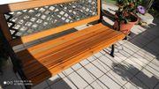Gartenbank Gusseisen Holz