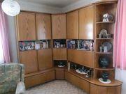 Wohnzimmerschrank Eckschrank Buffet 80-er Jahre
