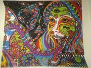 Wandbehang Tuch Goa Psy Teppich