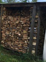Brennholz verschiedene laubhölzer