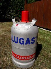 Alu-Gasflasche 11kg Berger Wassertaxi Adapterleitungen