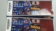2x BAROCK AC DC Tribute