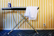 Bügle ihre Wäsche