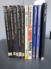 10x Science Fiction Bücher