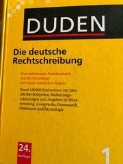 DUDEN - Die deutsche Rechtschreibung- Buch
