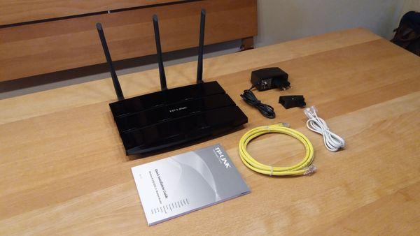 TP-Link TD-W8970B WLAN Gigabit ADSL2
