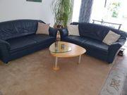 Couch Sofa Leder schönes dunkles