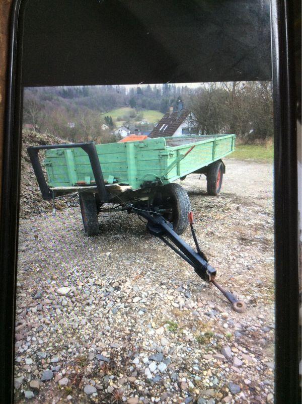 2-Achs Kipper Traktor 3 6to