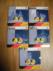 5 Gedenksets Deutsche Post mit
