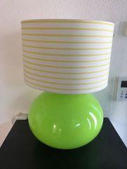 Lampe Leuchte grün dimmbar Ikea