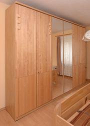 Komplette Schlafzimmereinrichtung Bett Schrank Kommode