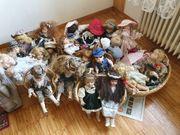 Puppen aus Sammlung ca 35
