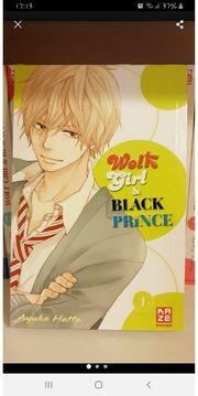 Wolf Girl Black Prince Manga
