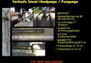 Verkaufe Diesel Handpumpe Fasspumpe