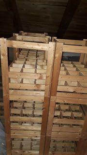 Weinkisten aus Holz massiv