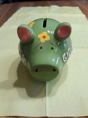 Spardose Schwein Glücksschwein Deko Kinder