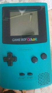 Gameboy color mit Pokemon Gelb
