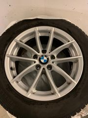 4 Winterreifen Alufelgen Original BMW