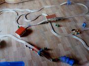 Holzeisenbahn- Anlage