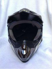 Monster Skull Candy Motocross Helm