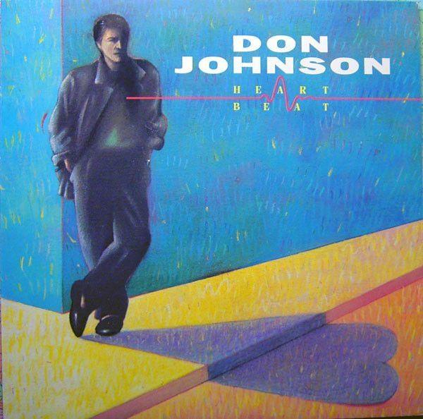 Schallplatte Don Johnson Heartbeat 1986