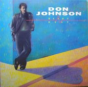 Schallplatte Don Johnson Heartbeat 1986