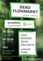 Deko-Flohmarkt in Marbach