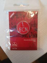 1 FCN Anstecker limitiert
