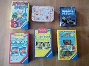 Kinderspiele 6 Stück sehr gut