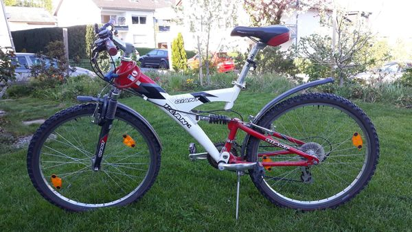 MTB-Jugend-Fahrrad 26 Full Suspension