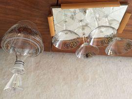 Glas, Porzellan antiquarisch - Likörgläser Set