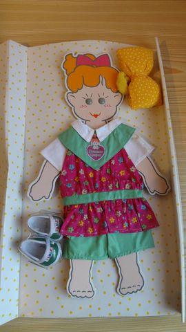 Puppen - Puppenkleidung - Set NEU - Größe klein