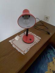 Schreibtischlampe zu verschenken