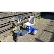 6punto8 Elektroroller Dreirad - Golfcaddy GolfScooter -