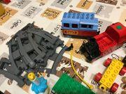 Lego Duplo mit Eisenbahn