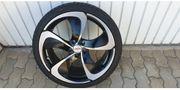 19 Alufelgen mit Reifen für