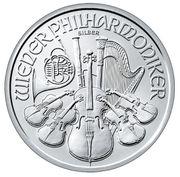 3 1 kg Silber Philharmoniker