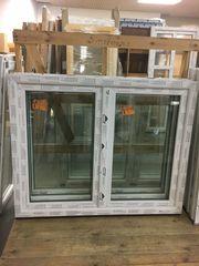 Kunststofffenster 150x120 cm weiß 2flg