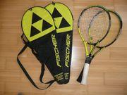 Fischer Tennisschläger mit Hülle