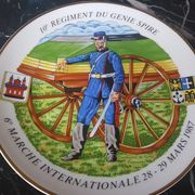 Regiment Marschteller du regiment du