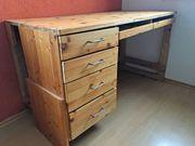 Schreibtisch Fichte höhenverstellbar