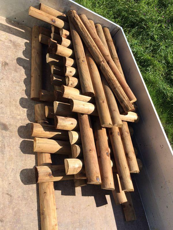 Holz für Hochbeet Zaun etc