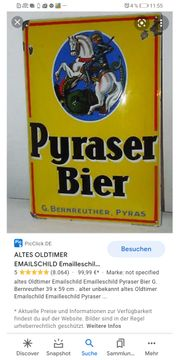 Pyraser Bier nostalgieschilder