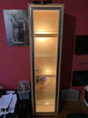 Vitrine Glasvitrine Holz Terrarium Sammlung