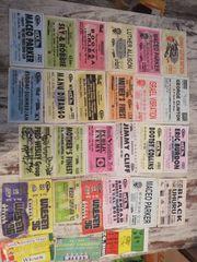 Alte Eintrittskarten Sammler