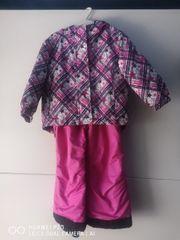 Schnee Anzug mädchen rosa Stern